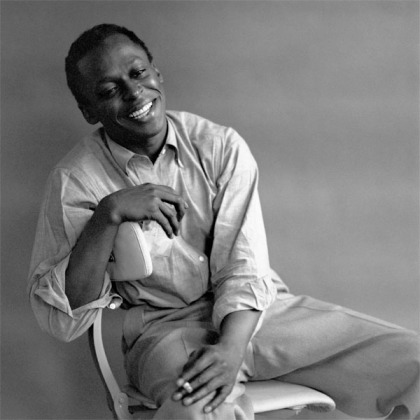 Trumpeter Miles Davis (photo by Tom Palumbo via Wikimedia Commons_